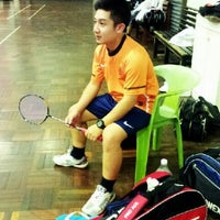 Photo taken at Foo Chow Badminton Hall by iFka on 10/23/2012
