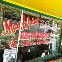 Photo taken at MacAlpine's Soda Fountain by Joe™ H. on 11/9/2012