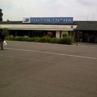Photo taken at Bandara Sultan Thaha Syaifuddin (DJB) by Just C. on 9/23/2012