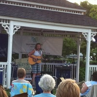 Photo taken at Bryn Mawr Gazebo by Paula C. on 7/12/2014
