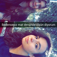 Photo taken at Adem Tolunay Anadolu Lisesi by Yağmur Helin A. on 11/6/2014