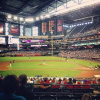 Photo taken at Chase Field by Chris D. on 7/14/2013