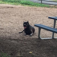 Photo taken at Stamford Dog Park by mike m. on 9/12/2015
