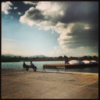 Photo taken at Parque Bicentenario by Mathias E. on 1/2/2013