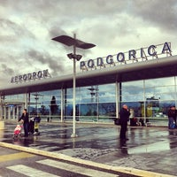 Photo taken at Podgorica Airport (TGD) by Balázs S. on 4/3/2013