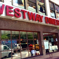 Photo taken at Westway Diner by The Corcoran Group on 7/29/2013