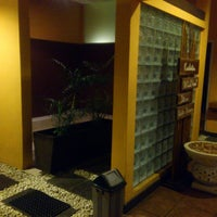 Photo taken at Le'mongrass Spa by Daryl P. on 4/6/2013