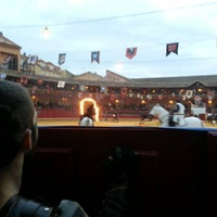 Photo taken at Plaza De Toros by Wyrdamur D. on 10/10/2015