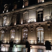 Photo taken at Avenue Montaigne by Варюшка on 12/17/2013