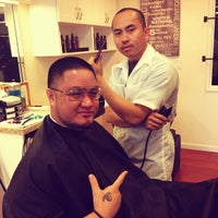Photo taken at Rosewood Barbershop II by wallace v. on 11/21/2012