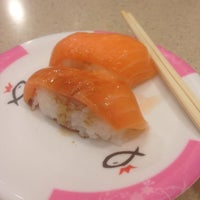 Photo taken at Sushi King by Husna H. on 4/15/2016