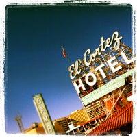 Photo taken at El Cortez Hotel & Casino by @VegasWayne A. on 11/20/2012