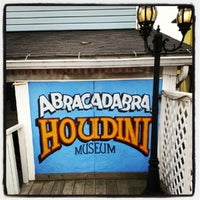 Photo taken at Houdini Museum, Tour & Magic by John B. on 10/8/2012