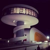 Photo taken at Oscar Niemeyer International Cultural Centre by Juan Carlos G. on 12/16/2012