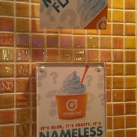 Photo taken at Orange Leaf Frozen Yogurt by Nathan B. on 5/22/2012