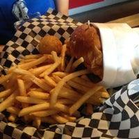 Photo taken at Bun Bun Gourmet Burger and Tea House by Christopher K. on 5/31/2012