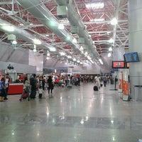 Photo taken at Aeroporto Internacional de São Luís / Marechal Cunha Machado (SLZ) by Erika F. on 1/15/2013