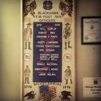 Photo taken at VFW Blackhawk Post 7975 by Andrew H. on 10/28/2012