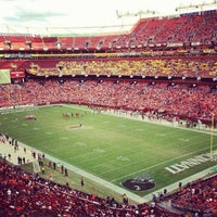 Photo taken at FedEx Field by Christina S. on 10/1/2012