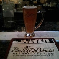 Photo taken at Bull & Bones Brewhaus & Grill by Horst D. on 4/22/2013