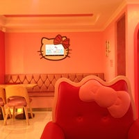 Photo taken at Hello Kitty Cafe by Camille L. on 8/11/2013