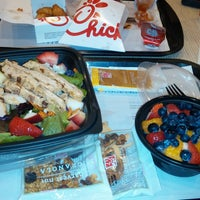 Photo taken at Chick-fil-A First Colony Center by Ashley H. on 10/9/2014