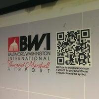 Photo taken at Baltimore / Washington International Thurgood Marshall Airport (BWI) by DK S. on 5/25/2013