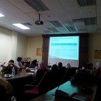 Photo taken at Fakulti Sains Makanan Dan Pemakanan by Jane E. on 11/17/2013