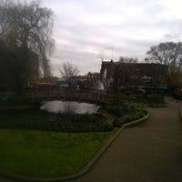 Photo taken at Clapton Pond by Dayne G. on 3/8/2016