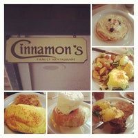Photo taken at Cinnamon's Restaurant by Casey L. on 6/19/2013