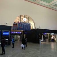 Photo taken at Bahnhof Biel / Gare de Bienne by Aldo G. on 12/30/2012