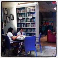 Photo taken at Book Latte by Estan l. on 2/8/2014