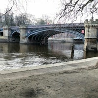Photo taken at Skeldergate Bridge by Hannah G. on 3/14/2016