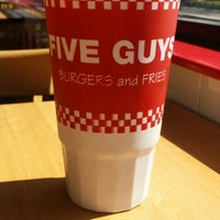 Photo taken at Five Guys by Lucas H. on 3/18/2015