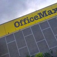 Photo taken at Office Max by Daniel Eduardo D. on 3/14/2013