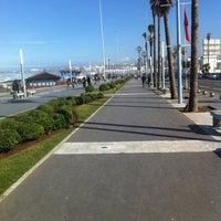 Photo taken at La Corniche de Casablanca by ucef o. on 1/26/2013