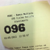 Photo taken at HSBC by Osmar F. on 5/3/2013