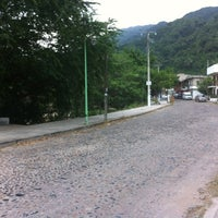 Photo taken at Rio Cuale by Chufo R. on 11/14/2012