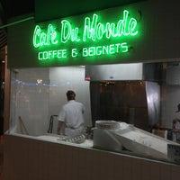 Photo taken at Café du Monde by Sara M. on 3/15/2013