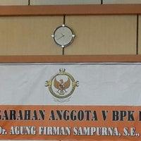 Photo taken at Auditorium BPK RI Pwk Prov. Jambi by Halida E. on 12/23/2013