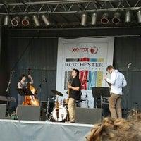 Photo taken at Rochester International Jazz Festival by Paula S. on 6/29/2016