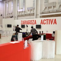 Photo taken at Zaragoza Activa by Pello G. on 11/13/2012
