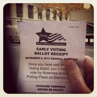 Photo taken at Chicago Board of Elections by Eliot on 10/25/2012