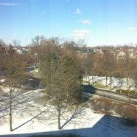 Photo taken at Hilton Stamford Hotel & Executive Meeting Center by Alejandra I. on 1/26/2013