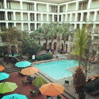 Photo taken at DoubleTree by Hilton Hotel San Antonio Airport by Aaron E. on 11/7/2012