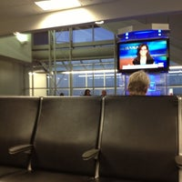 Photo taken at Gate B12 by Timothy S. on 11/12/2012