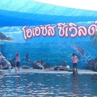 Photo taken at Oasis Sea World by Maymey L. on 5/19/2013