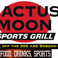 Photo taken at Cactus Moon Sports Grill by Barry N. on 4/27/2015