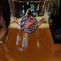Photo taken at Pike Brewing Company by L Allen H. on 7/6/2013