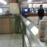 Photo taken at Yurakucho Line Shin-kiba Station (Y24) by Tommy M. on 3/27/2013